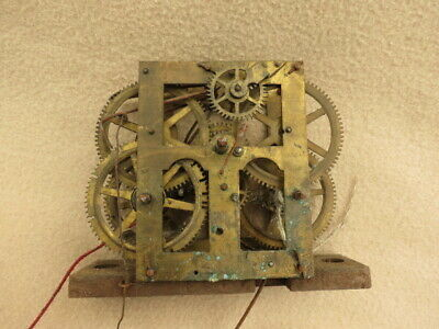 Antique Chauncey Jerome Ogee Clock Movement