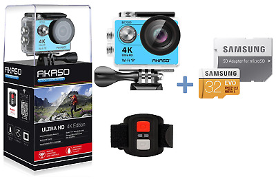 AKASO EK7000 Ultra HD 4K Sport Action Camera 12MP WiFi Cam DV Camcorder 2019