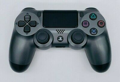Genuine Sony Playstation PS4 Dualshock 4 Controller Steel Black - New Other
