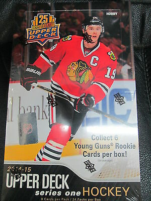 2014-15 Upper Deck Series 1 Hockey Hobby Sealed Case