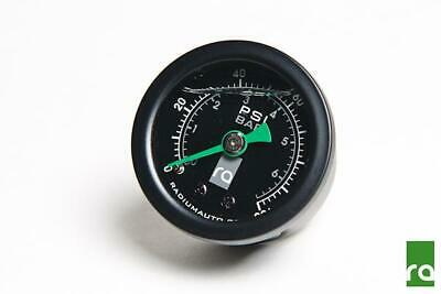 RADIUM AUTO Fuel Pressure Gauge, 0-100psi With 8AN ORB Adapter 20-0075