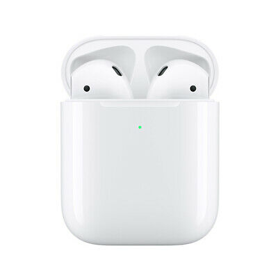 Apple Airpods 2 2019 (2.Gen) mit kabellosem Ladecase wireless charging MRXJ2ZM/A
