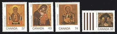 1988 Canada SC# 1222-1225 - Christmas (Icons) Lot# 200 M-NH