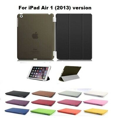 Smart Magnetic Stand Folding Case Cover for Apple iPad Air 1 (2013) version only