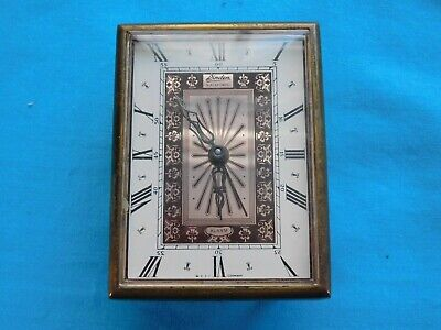 Vintage Linden Black Forest Clock With Alarm West Germany Works Well Time Piece