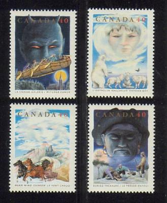 1991 Canada SC# 1334-1337 - Canadian Folklore-2 Lot# 224 M-NH