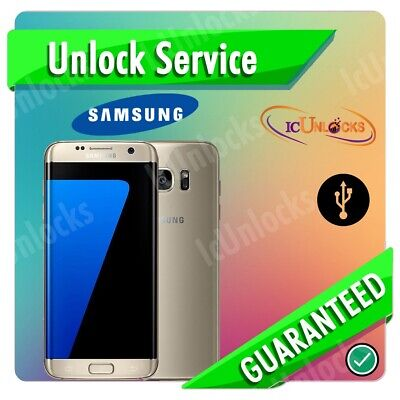 Samsung Galaxy S7/Edge G930F,G935F,G930W8,G935W Remote Unlock Service Instantly
