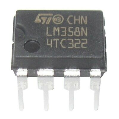 2X(20 Pieces LM358 LM358N LM358P Dual Operational Amplifiers Op-Amp DIP8 Q1F4)