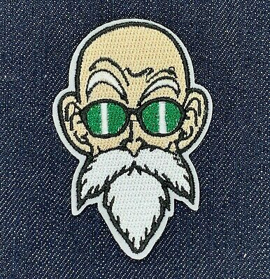 Dragon Ball Z Master Roshi Iron On Embroidered Patch Free Shipping