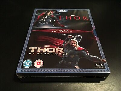 Thor & Thor The Dark World:- Blu-Ray NEW & FACTORY SEALED!