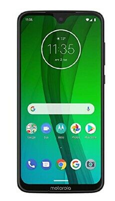 "Motorola Moto G7 64GB, Ceramic Black, 4G LTE Unlocked, PAE00002US, 6.2"", 4GB RAM"