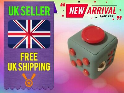 Fidget Cube Spinner Toy Children Desk Adults Stress Relief Special Cubes UK