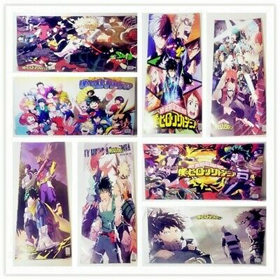 NEW Anime My Hero Academia Wall Art Poster Home Decor 16.5x11.25 Inches