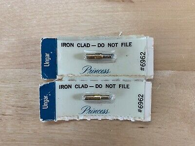 Lot of Two (2) Ungar 6962 Iron Clad Princess Soldering Tips NEW