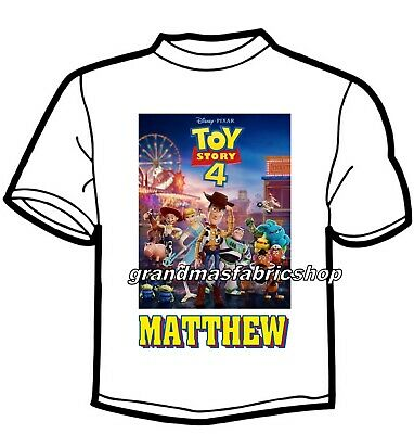 Personalized Toy Story Buzz Lightyear and Woody t Shirt Party Favor gift present