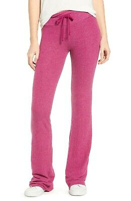 Wildfox Women's Tennis Club Sweat Stretch Pants in Barbie Pink Size X-SMALL