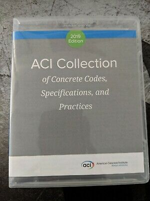 ACI Collection of Concrete Codes, Specifications, and Practices (2019) USB