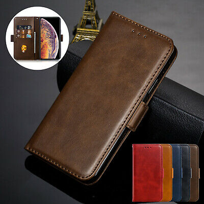 For iPhone XS Max XR X 7 8 6s+ Case Retro Magnet Flip Leather Wallet Stand Cover