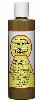 Amazing Maui Babe All Natural Fast Tan Browning Lotion