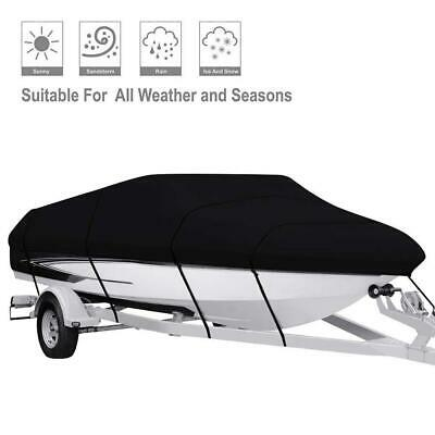 Waterproof Oxford Cloth Boat Yacht Cover Sunshade Anti-rust Protective Case New