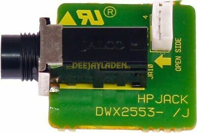 Pioneer DJM800 Mixer Headphone Jack Assembly PCB Replacement DWX2553
