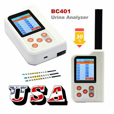 BC401 Handheld Digital Urine Analyzer With 100PCS Test Strips USB,Bluetooth,FDA