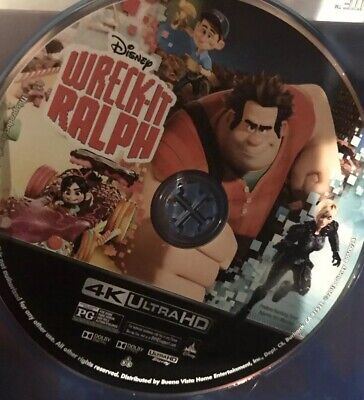 Disney Wreck It Ralph 4K UHD (No BluRay or Digital Cover Art)BUY MORE SAVE MORE