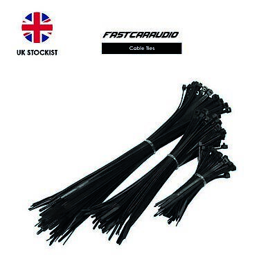 Quality Nylon Black Cable Ties Various Sizes Uk Stock Uk Seller Fast Dispatch