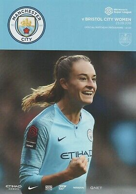 * 2018/19 - Man City Women Home Programmes - Choose From List *