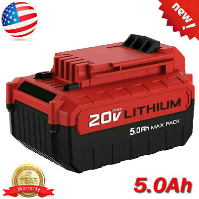 4.0Ah Lithium-Ion 20 Volt Battery for PORTER CABLE 20V Max PCC685L PCC680L Tool
