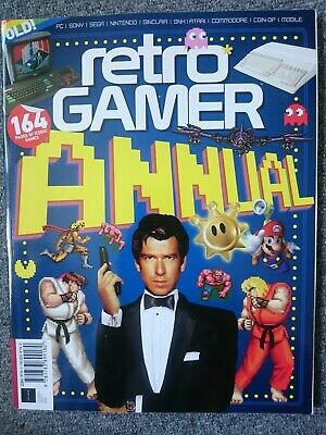 RETRO GAMER ANNUAL  VULUME 5 Future Magazine 164 pages of iconic games