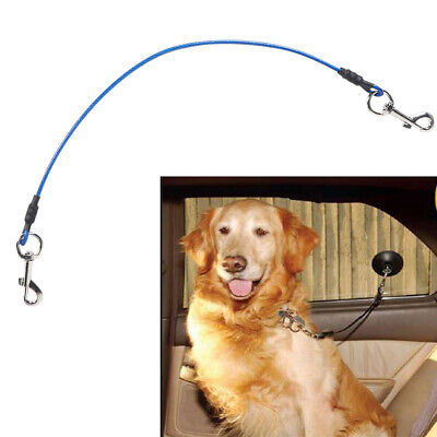 Double Clasp Wrapped Steel Wire No Slip Choke Noose Restraint Dog Grooming