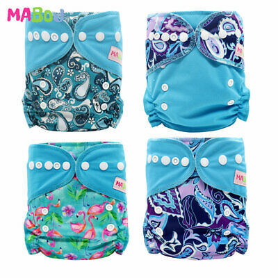 MABOJ pocket cloth diaper designed to fit from approximately most babies 8-38lbs