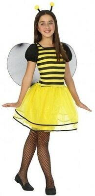 Girls Bumble Bee Mini Beast Insect + Wings Book Day Fancy Dress Costume Outfit
