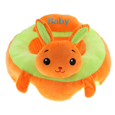 Baby Learning Chair Support Seat Baby Anti-Rollover Sofa Rabbit