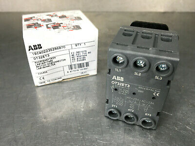 ABB OT32ET3 Open Disconnect Switch Line Series