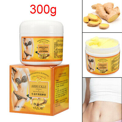 300g Ginger Fat Burning Anti-cellulite Full Body Slimming Cream Gel Weight Loss
