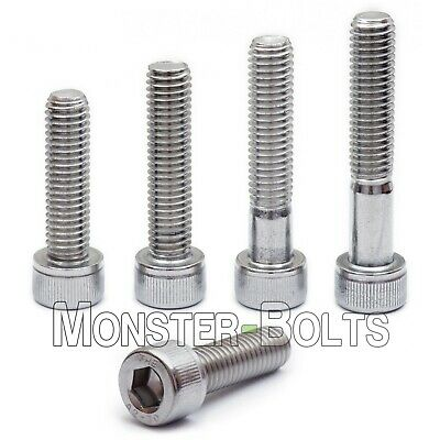 M4-0.70 x 18mm Stainless Steel Socket Head Caps Screws Metric DIN 912 A2 Coarse