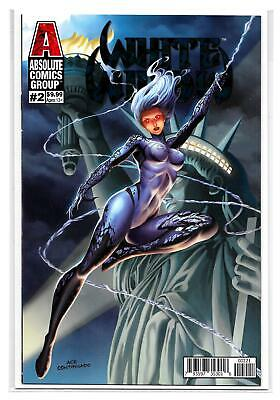 White Widow #2 - Ace Continuado Foil Variant Cover - NM - Red Giant Comics!