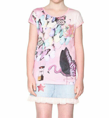 DESIGUAL T-Shirt MADCHEN TS POOLIE 18SGTKA4 GRAPHIC TEE