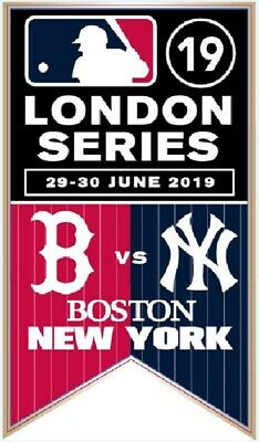 2019 Ny Yankees Boston Red Sox London Game Pin Scarce Collectible Historic Event