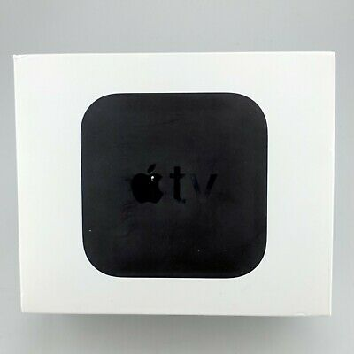 Apple TV 5th Generation A1842 4K 64GB w/ Siri Remote MP7P2LL/A Black Good Shape