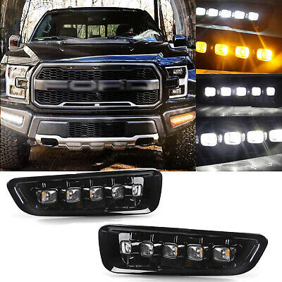 0for 2017 2019 Ford F 150 144w Fog Led Light Bar Lower