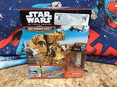 Star Wars The Force Awakens Micro Machines First Order Stormtrooper Hasbro 2015