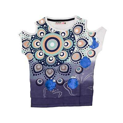 DESIGUAL T-Shirt MADCHEN TS TENNESSE 18SGTK47