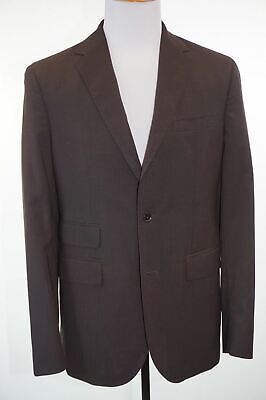 Banana Republic Heritage Suit 42R (31x32) 100% Wool Brown