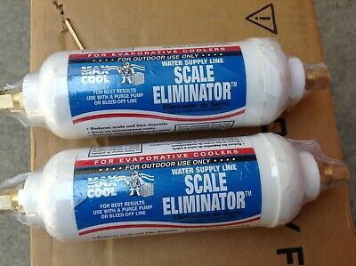 NEW x2 Max Cool SCALE ELIMINATOR WATER SUPPLY LINE for Evaporative Coolers