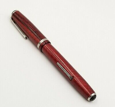 Vintage Esterbrook SJ Copper Fountain Pen Nib 2556 Lever Fill Double Jewel