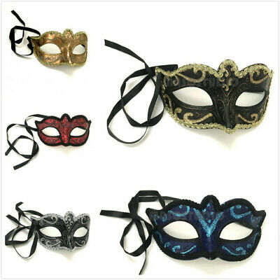 Girls Masquerade Ball Mask Birthday Dance Dress up Party Cake Topper Wearable