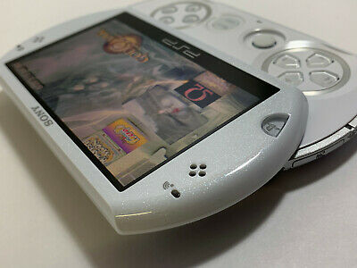 Sony PSP Go 16GB Pearl White Console 36 PSP GAMES / NEW ACCESSORIES / NEAR MINT
